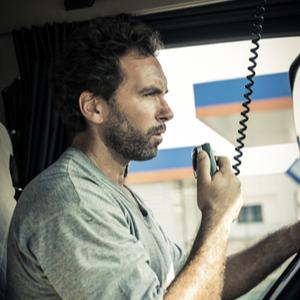 Trucker using CB radio. Filing for UCR registration