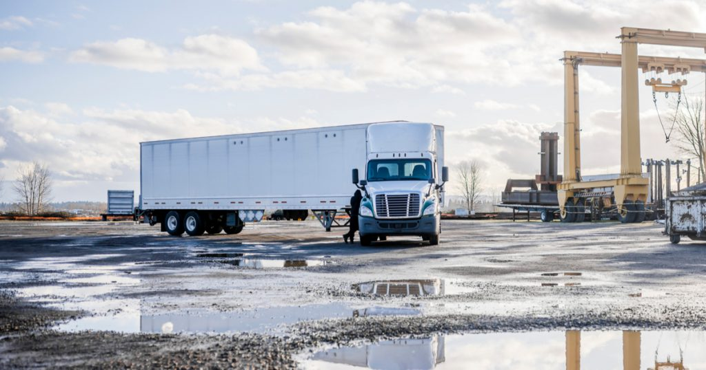 Trucker getting business tax extension with Form 7004