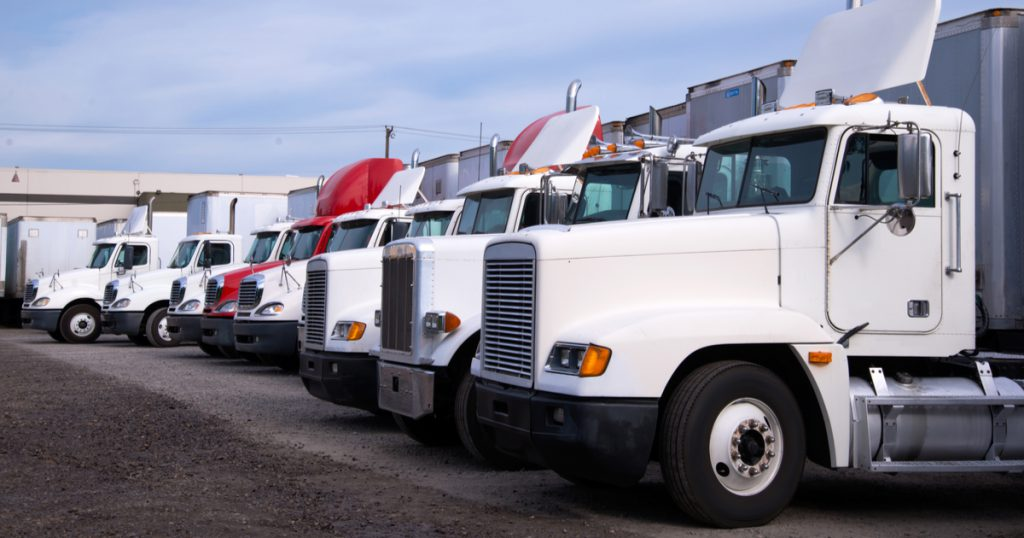 Parked trucks reporting suspended vehicle IRS 2290